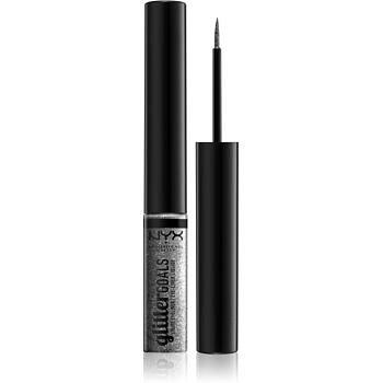 NYX Professional Makeup Glitter Goals oční linky odstín Diamond Dust