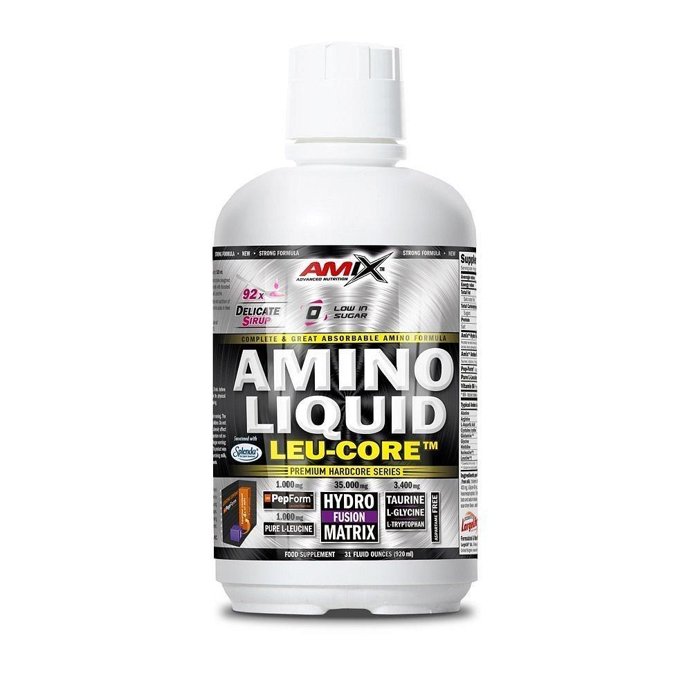 Amix Amino LEU-CORE liquid, Red Cherry, 920ml