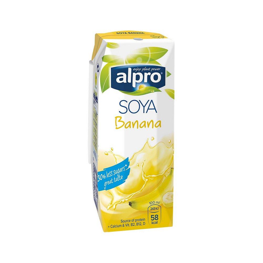 ALPRO Sójový nápoj Banán 250 ml