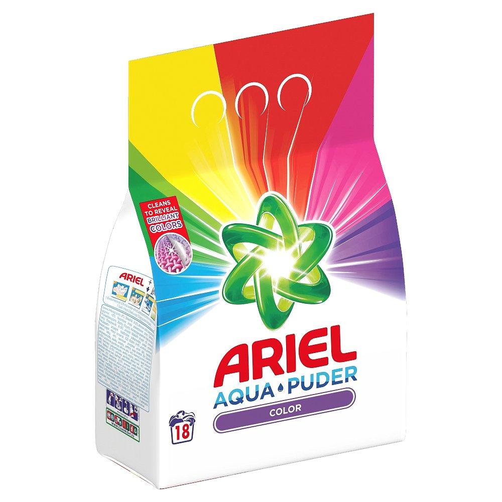 Ariel Prací prášek  AquaPuder Color, 18 praní 1,35 kg