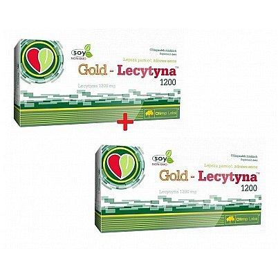 1+1 ZDARMA Gold-Lecytyna 1200 Lecithin 60 g