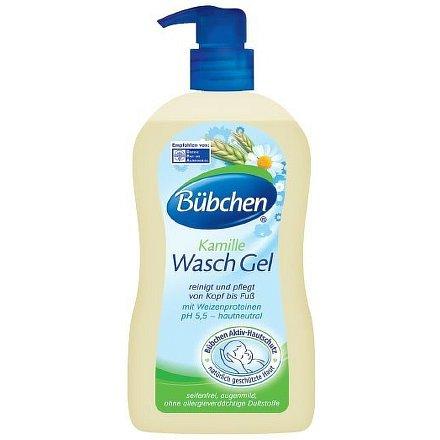 Bübchen tělový tekutý gel pro děti 400ml