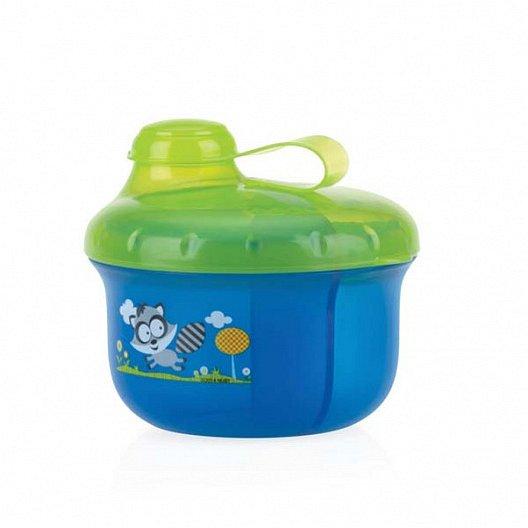 NUBY Dávkovač na mléko 270 ml, modrý