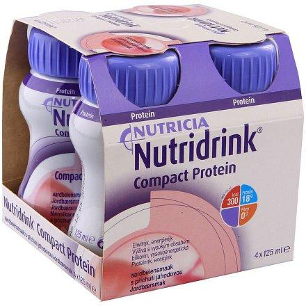 Nutridrink Compact Protein Lesní ovoce 4x125ml nový