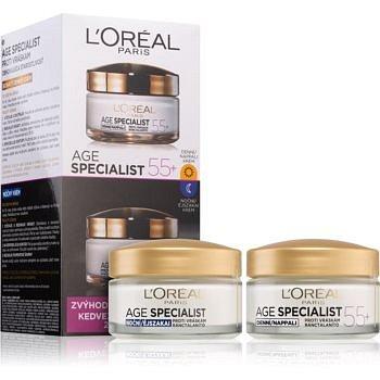 L'Oréal Paris Age Specialist 55+ kosmetická sada I. pro ženy