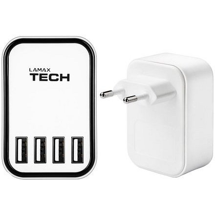 LAMAX Tech USB Smart Charger 4.5A - USB nabíječka (4x USB)