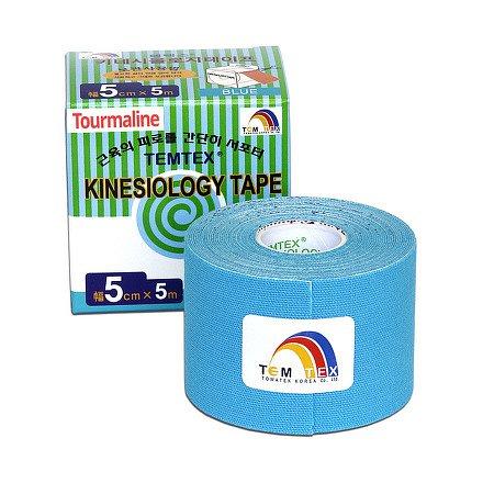 Tejp. TEMTEX kinesio tape Tourmaline modrá 5cmx5m