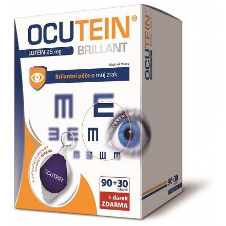 Ocutein Brillant Lutein 25 mg DaVinci 90+30 tobolek + dárek