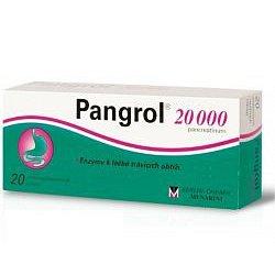 Pangrol 20000 por.tbl.ent.20 II
