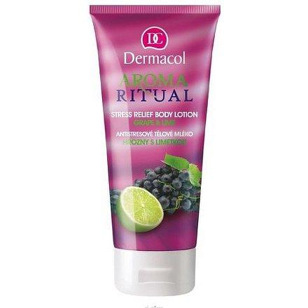 Dermacol Aroma Ritual tělové mléko hrozny a limetka 200 ml