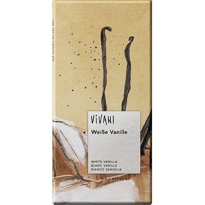 EG bílá čokoláda s vanilkou VIVANI 80g-BIO