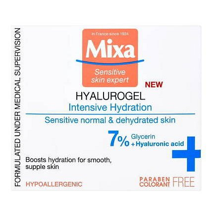 Mixa Intenzivní hydratační péče na obličej 50ml