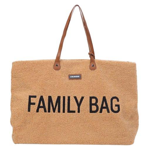 Childhome, Cestovní taška Family Bag Teddy Beige