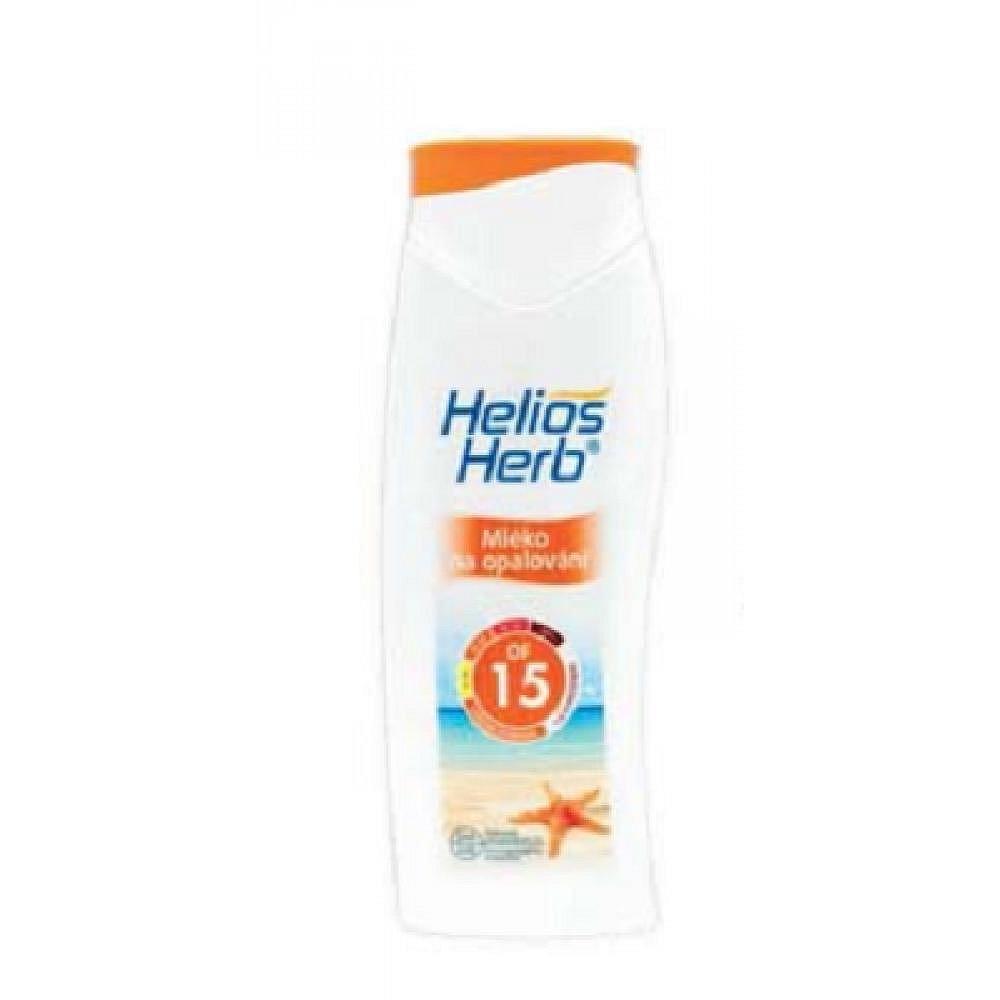 Helios herb mléko na opalování OF 15, 250ml