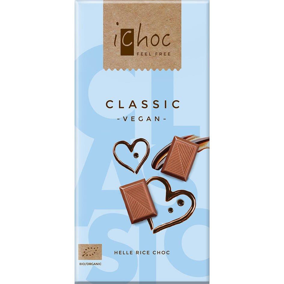 iChoc Bio vegan čokoláda classic 80g