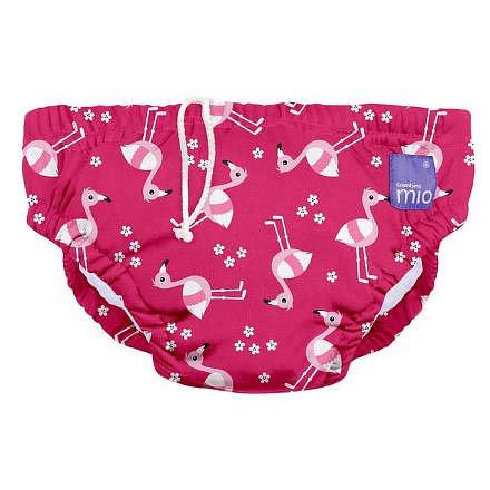 Kojenecké plavky Pink Flamingo vel.M