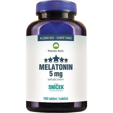 Melatonin 5mg Sníček 100 tablet