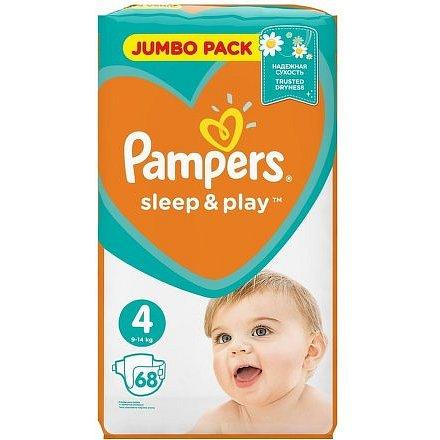 Pampers Sleep & Play 4 MAXI 68ks