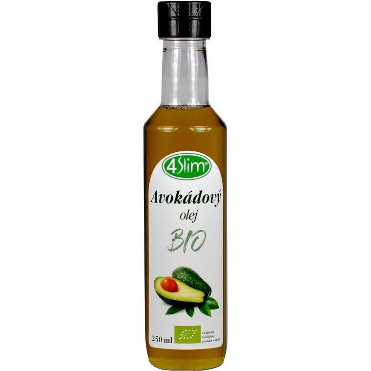 4slim BIO Avokádový olej 250ml