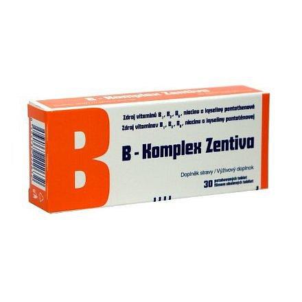 B-Komplex Zentiva dražé 30