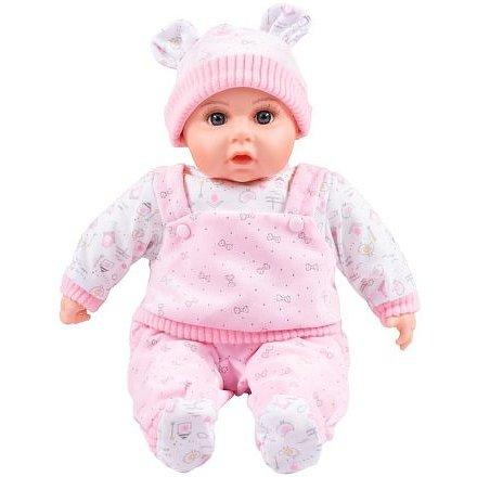 Česky mluvící a zpívající dětská panenka PlayTo Julie 46 cm