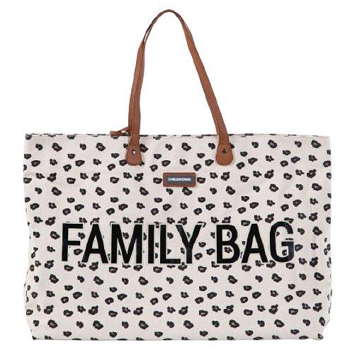 Childhome, Cestovní taška Family Bag Canvas Leopard