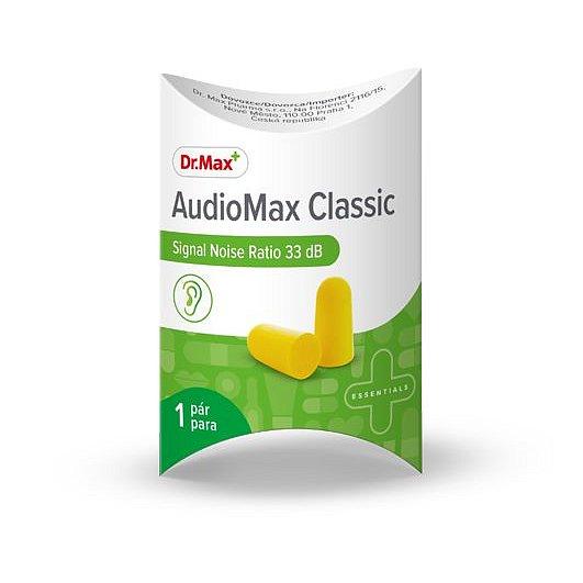 Dr.Max AudioMax Classic 33 dB chránič sluchu 1 pár