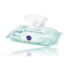 NIVEA Baby čist.ubrousky Sensitive 63ks č.86144