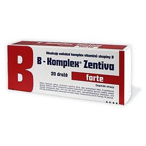 B-Komplex forte Zentiva dražé 20