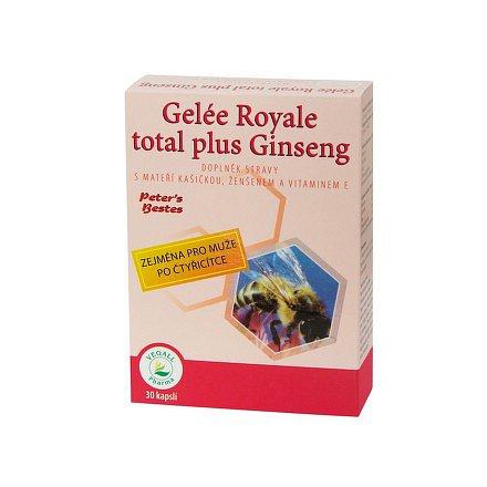 Gelée Royale total plus Ginseng orální tobolky 30