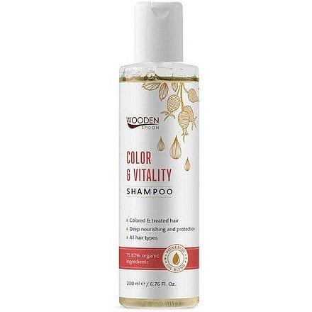 WoodenSpoon Šampon Barva a Vitalita 200ml