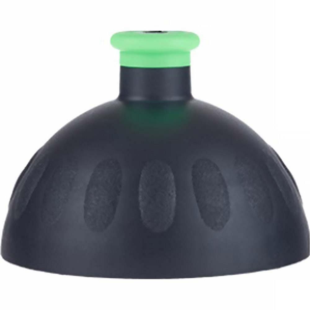 ZDRAVÁ LAHEV Víčko černé/zátka zelená fluo