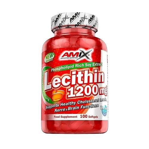 Amix Lecithin 1200mg, 100softgels