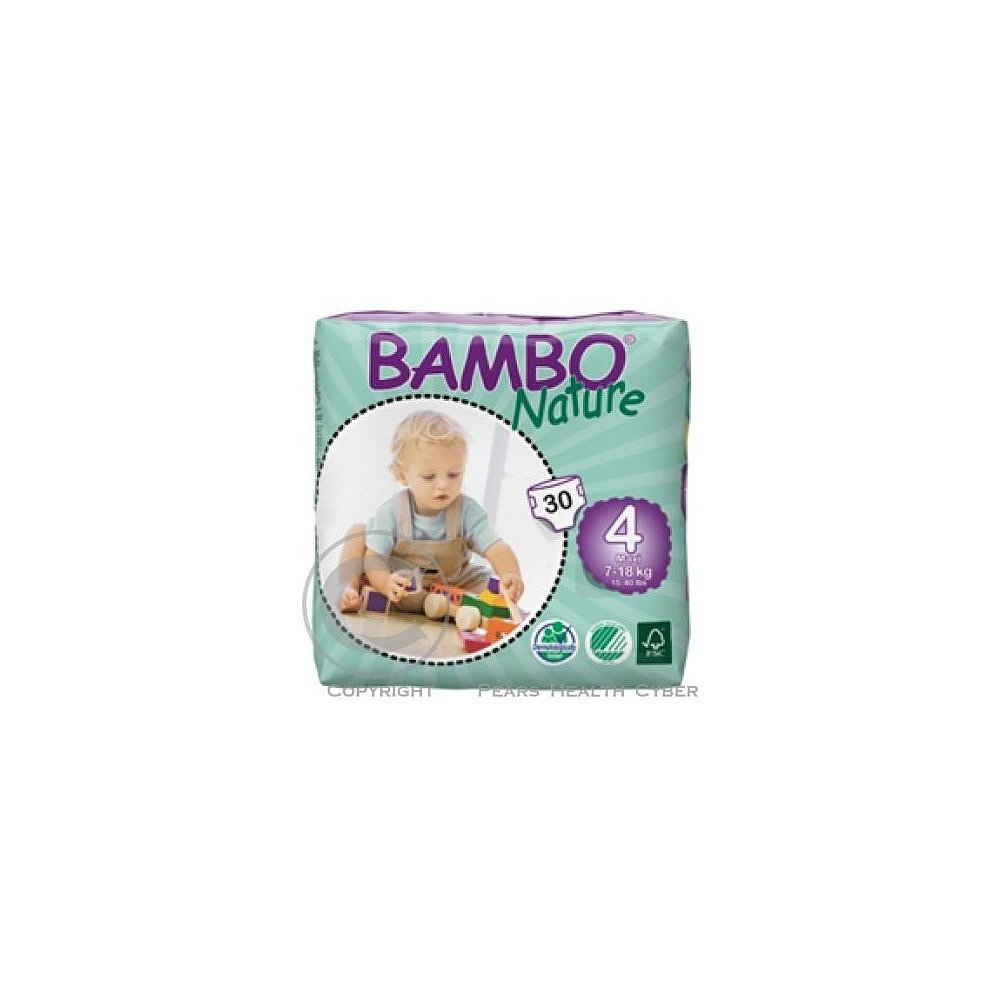 Abena BAMBO Nature 4 Maxi 7-18kg 30ks