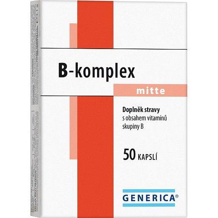 B-komplex mitte Generica orální tobolky 50