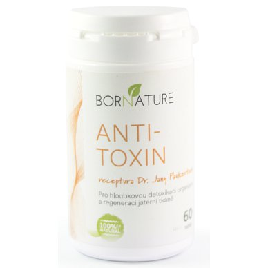 BORNATURE Anti-toxin 60tbl.