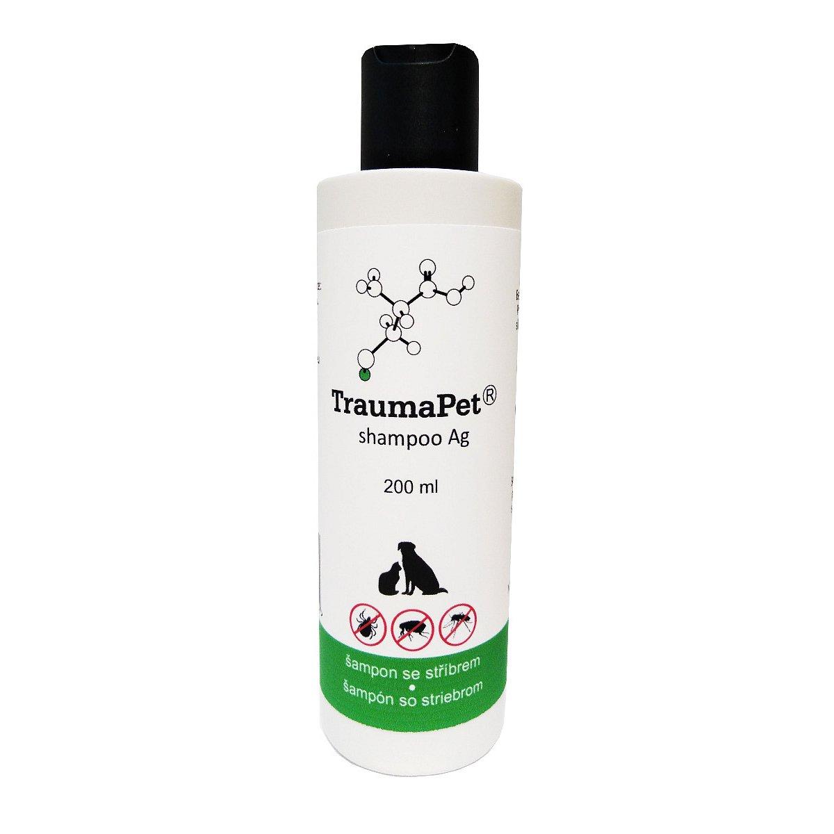 TraumaPet Ag Šampon se stříbrem 200 ml