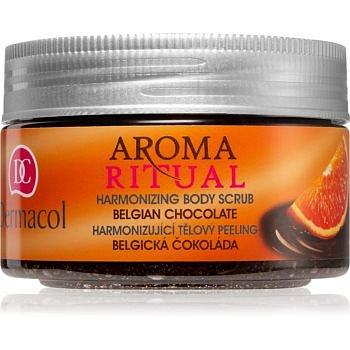 Dermacol Aroma Ritual harmonizující tělový peeling belgická čokoláda 200 g