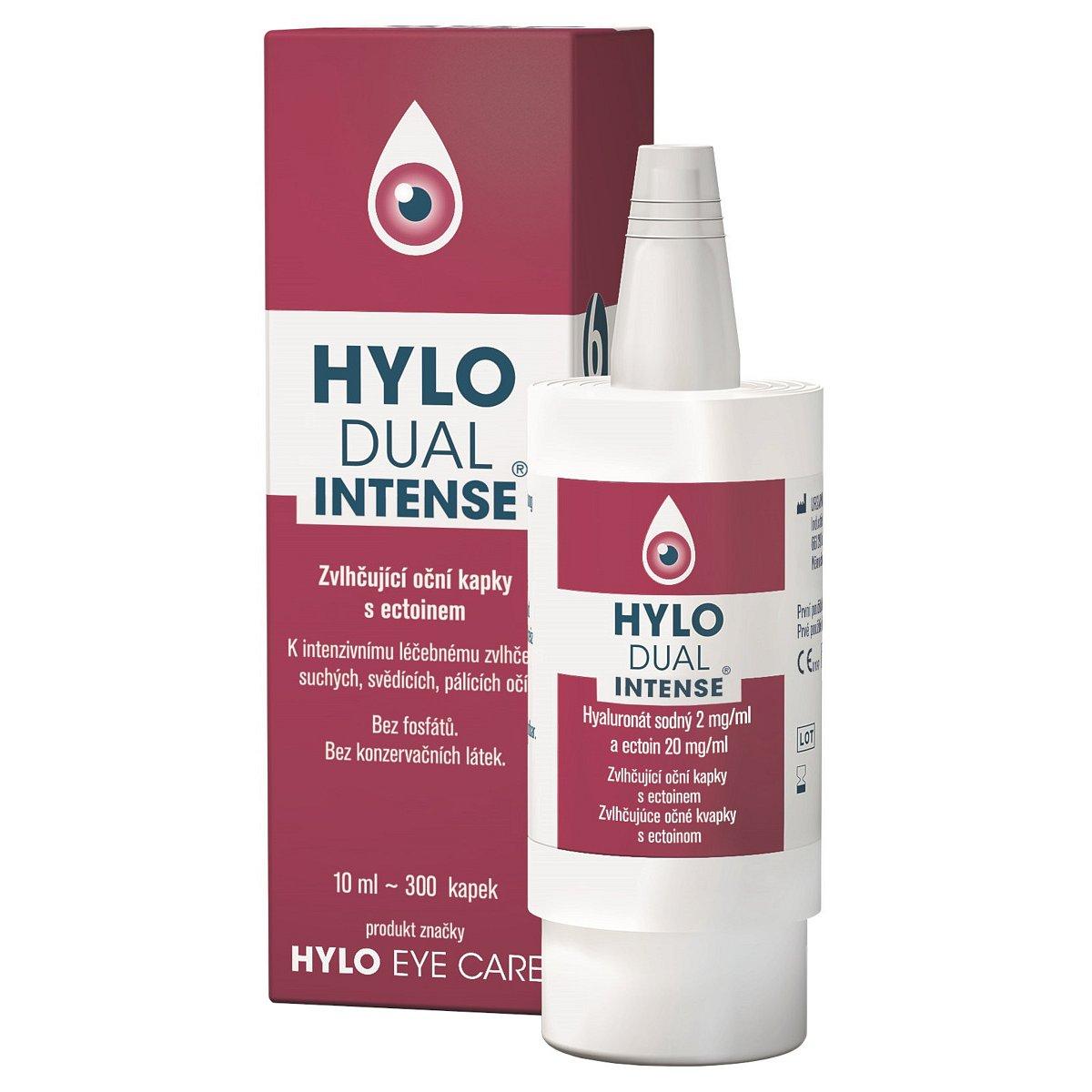 Hylo Dual Intense oční kapky 10ml (umělé slzy)
