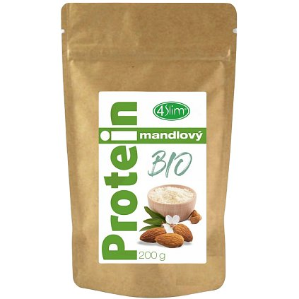 4slim BIO Mandlový protein 200g