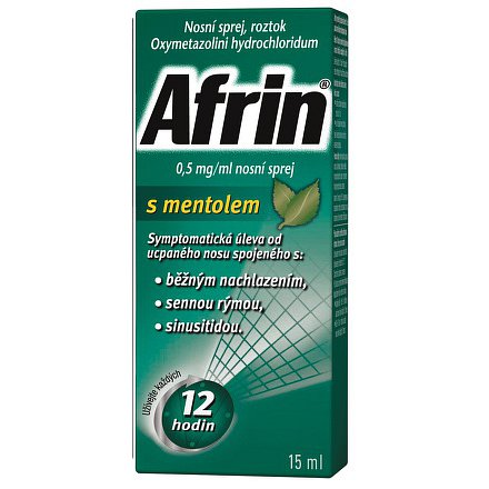 Afrin 0.5mg/ml s mentol.nas.spr.1x15ml