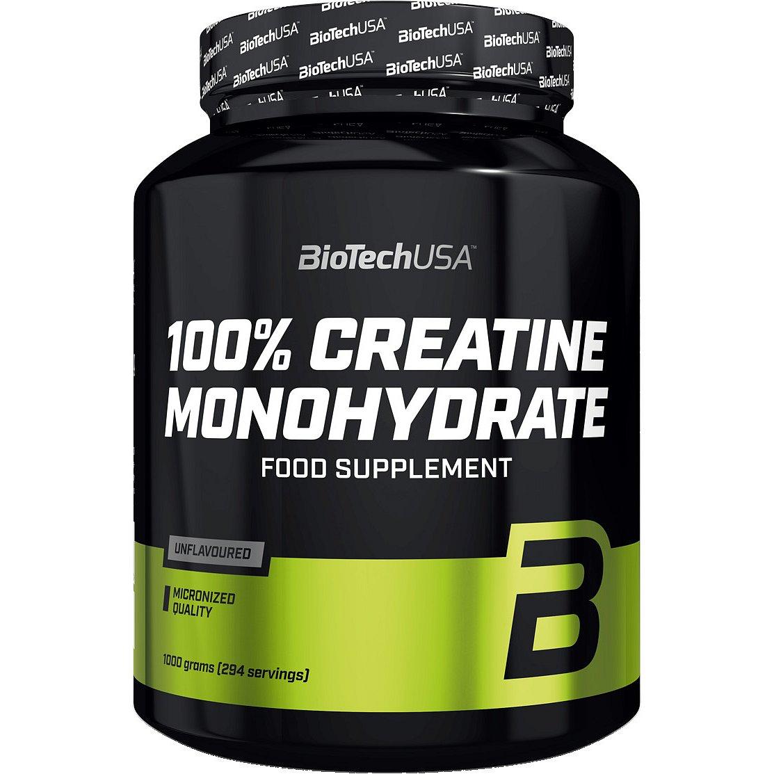 BioTech USA 100% Creatine Monohydrate 1000g