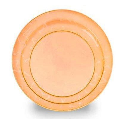 Dětský talířek Tommee Tippee oranžový - 3 ks