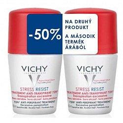 Vichy Deo Antiperspirant Stress Resist 72h proti nadměrnému pocení DUO 2x50 ml