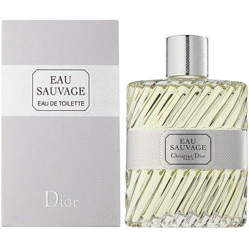 Dior Eau Sauvage toaletní voda bez rozprašovače pro muže 200 ml