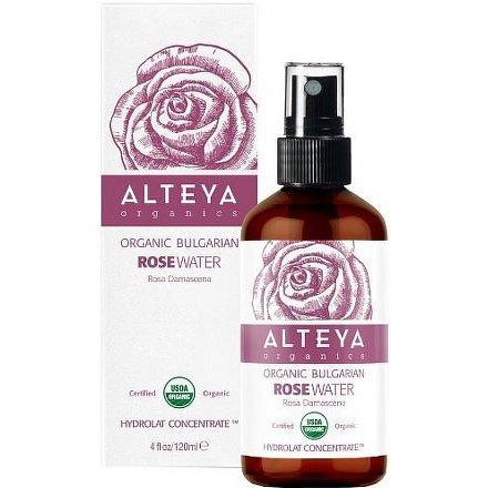 Bio Alteya Růžová voda v skle 120ml