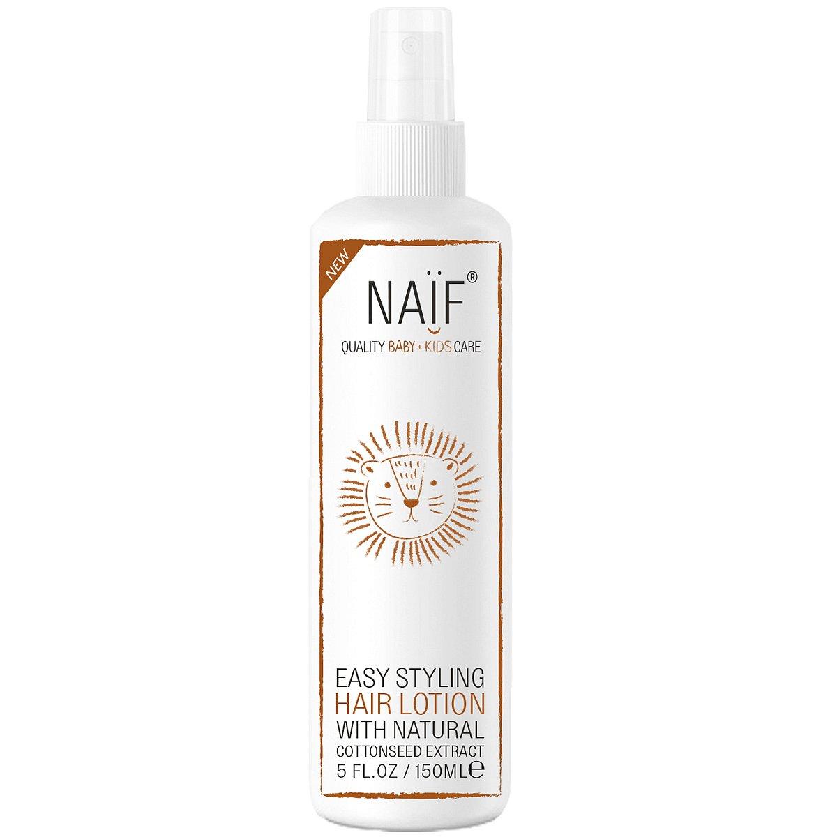 Naïf Hair Lotion pro výživu vlasů a snadné rozčesávání 150ml