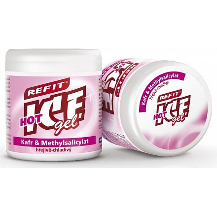 Refit Ice gel s kafrem 230ml