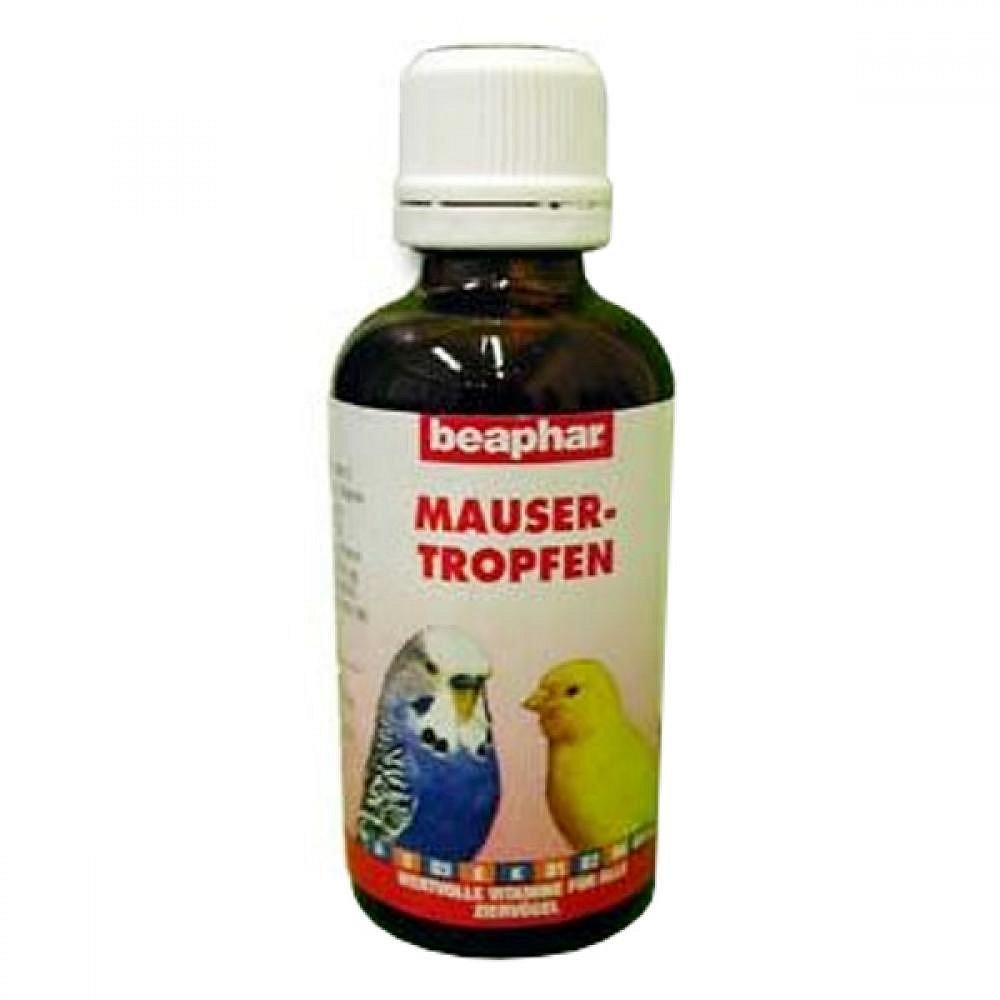 BEAPHAR proti pelichání ptáků Mausertropfen 50ml