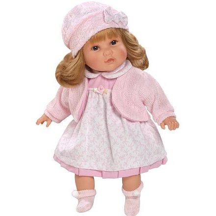Luxusní mluvící dětská panenka-holčička Berbesa Nina 40cm